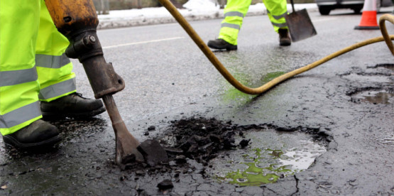 Pothole repair company in Glasgow