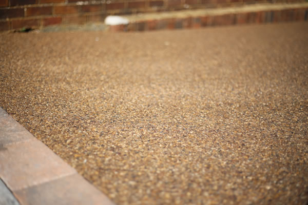 Resin bound driveway in Newcastle
